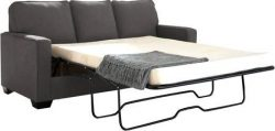 Ashley Zeb 3590136 Pull-Out Sofa Sleeper with Memory Foam Mattress Track Arms and Loose Seat Cus ...