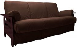 Rumba Perfect Sit & Sleep Pocketed Coil Inner Spring Pillow Top Sofa Sleeper Bed, Queen-size ...