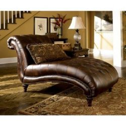 Ashley Furniture Signature Design – Claremore Chaise Lounge with 1 Accent Pillow – G ...