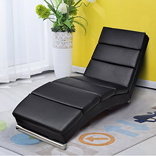 Cloud Mountain Leisure Chaise Lounge Couch Sofa Chair Living Room