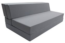 Merax Convertible 5-Folding Foam Sleeping Mattress Sofa Bed and Floor Mat , (Queen(LxWxH) :80in. ...