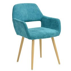 GreenForest Leisure Chair Mid Century Retro Style Thick Fabric Cushion Seat and Back ,Accent Lou ...