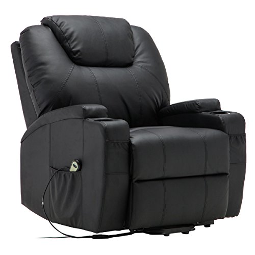 Tangkula Electric Lift Power Recliner Chair Heated Massage
