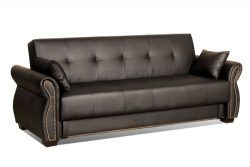 Serta Dream Convertible Seville Sofa, Java