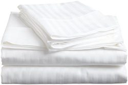 Egyptian Cotton Queen Sleeper Sofa Bed Sheet Set 400 Thread Count 62″x74″x6″ W ...