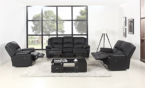 Classic Oversize And Overstuffed Living Room Recliner Set