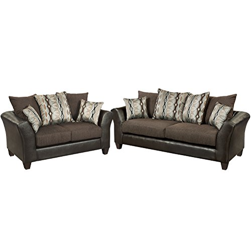 Flash Furniture Riverstone Rip Sable Chenille Living Room Set Gvdesigns Gvdesigns