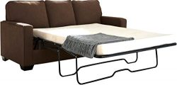 Ashley Furniture Signature Design –Zeb Sleeper Sofa – Contemporary Style Couch R ...