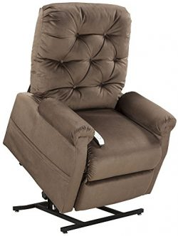 Mega Motion Classica Power Lift Chair Recliner- Chocolate (Curbside Delivery)