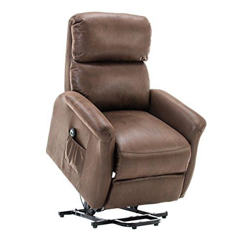 bonzy lift recliner classic power lift chair soft and warm f