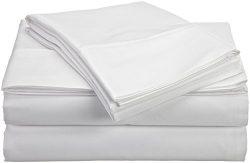 JB Linen 300 Thread Count Egyptian Cotton Super Soft 4-Piece Sheet Set Full Sleeper Sofa (54R ...
