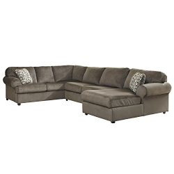 Flash Furniture Signature Design by Ashley Jessa Place Sectional in Dune Fabric  sc 1 st  gvdesigns & Anti-Slip Armless Pet Dog Sofa Cover Couch Covers Sectional ... islam-shia.org