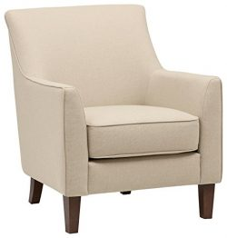 Stone & Beam Cheyanne Accent Chair, 31″W, Marshmallow