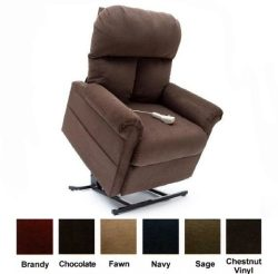 Mega Motion Power Easy Comfort Lift Chair Lifting Recliner LC-100 Infinite Position Rising Elect ...