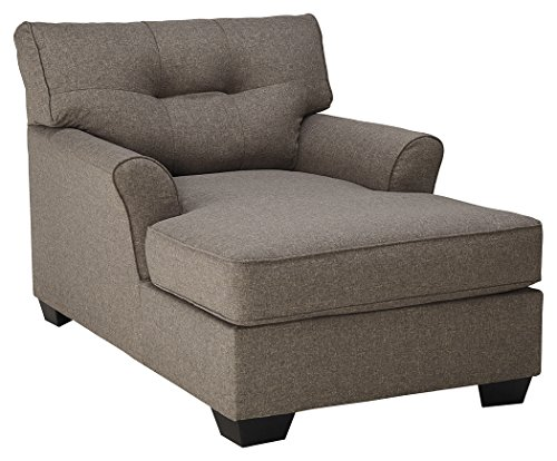 Ashley furniture signature design tibbee contemporary for Sleek sofa set designs