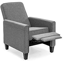 Best Choice Products Recliner Club Chair (Slate Gray)