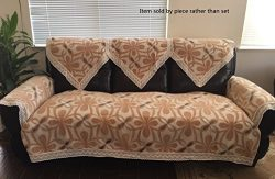 Octorose Chenille Lace Sectional Sofa Throw Covers Furniture Protector Sold By Piece Rather Than ...