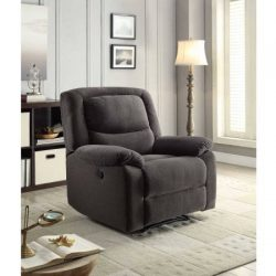 Serta Power Recliner, Grey | 37.75″W x 38″D x 41″H