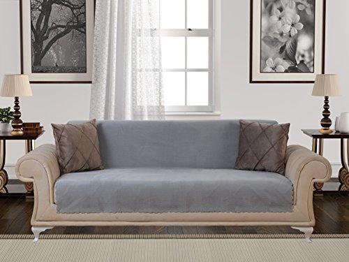 Anti Slip Armless 1 Piece Sofa Throw Slipcover For Dogs
