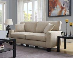 Serta RTA Palisades Collection 78″ Sofa in Silica Sand