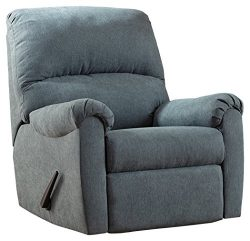 Ashley Furniture Signature Design – Zeth Rocker Recliner – Contemporary Reclining Ch ...