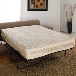 AirDream Hypoallergenic Inflatable Mattress with Electric Hand Pump for Sleeper Sofas, 60″ ...