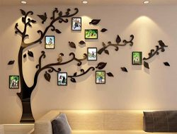 3d Picture Frames Tree Wall Murals for Living Room Bedroom Sofa Backdrop Tv Wall Background, Ori ...