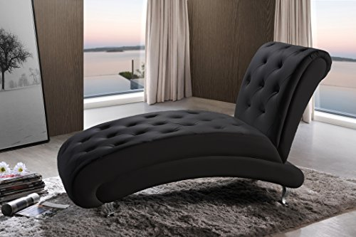 Baxton Studio Pease Contemporary Faux Leather Upholstered