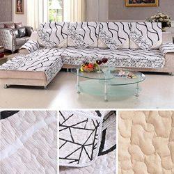 Sofa Cushion, Hometom Sofa Cover Black And White Striped Sofa Sectional Sofa For Cover Case Sofa ...