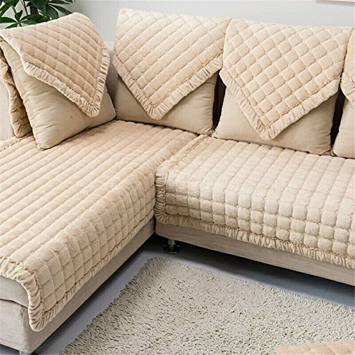 OstepDecor Multi-size Pet Dog Couch Rectangular Winter
