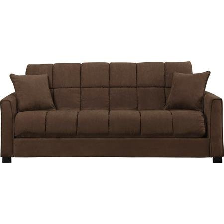 Baja convert a couch and sofa bed dark brown gvdesigns for Baja convert a couch and sofa bed reviews