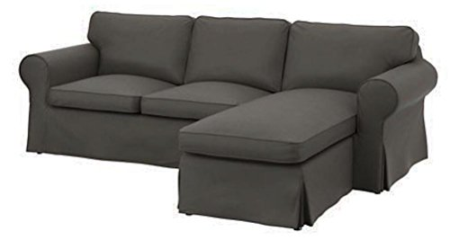 The dense cotton ektorp loveseat 2 seater with chaise for 2 seater chaise lounge