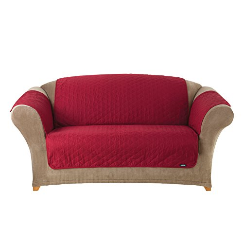 Sure Fit Furniture Friend Pet Throw Loveseat Slipcover