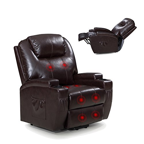 Power Lift Recliner Sofa Chair With Massage And Heating
