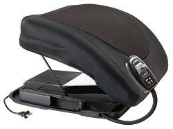 Carex Health Brands Premium Power Lifting Seat, Black, 20 Inches