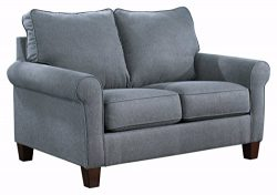 Ashley Furniture Signature Design – Zeth Sleeper Sofa – Twin Size – Easy Lift  ...