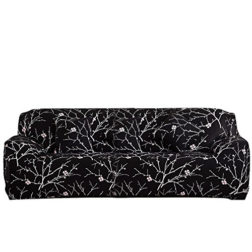 Eleoption Stretch Fabric Sofa Slipcover 1 2 3 4 Piece