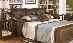 San Lucas 8370239 Queen Sofa Sleeper with Pillow Top Arms Innerspring Mattress and 3 Loose Seat  ...