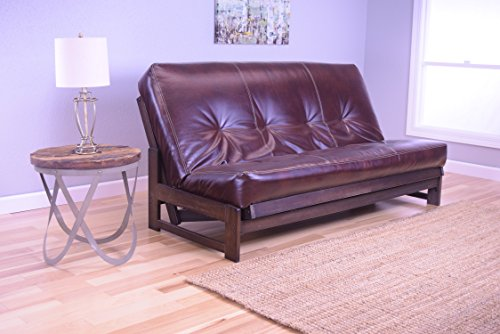 Kodiak Aspen Futon Set With Reclaim Mocha Finish Oregon