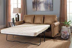 Signature Design by Ashley Lottie DuraBlend Sleeper Sofa, Full, Almond