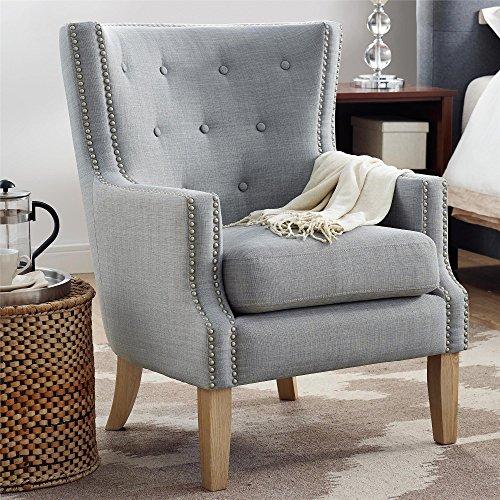 Dorel Living Da7900 Gr Otto Accent Chair Gray