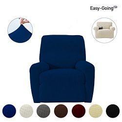 Stretch Recliner sofa Slipcovers sofa cover ,Furniture Protector with Elastic Bottom Strap, Sofa ...