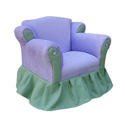 KEET Princess Kid's Chair, Lavender / Green