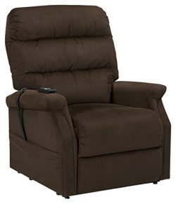 Signature Design by Ashley 7460212 Brenyth Power Lift Recliner, Chocolate