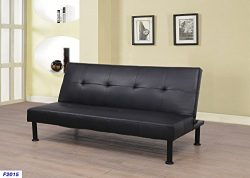 Beverly Fine Furniture F2105 Convertible Futon Sofa Bed