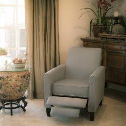 Best Selling Davis Recliner Club Chair, Grey