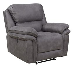 Bradford Living KPI001003 Atlantic Rocker, Recliner, Gray