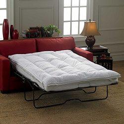 Sleeper Sofa Mattress Topper-Full (75″L x 54″W)