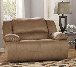 Ashley Furniture Signature Design – Hogan Oversized Recliner – Mocha
