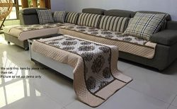 Ofit Chenille Quilted Sectional Sofa Throw Pads Furniture Protector Sold By Piece Rather Thank S ...